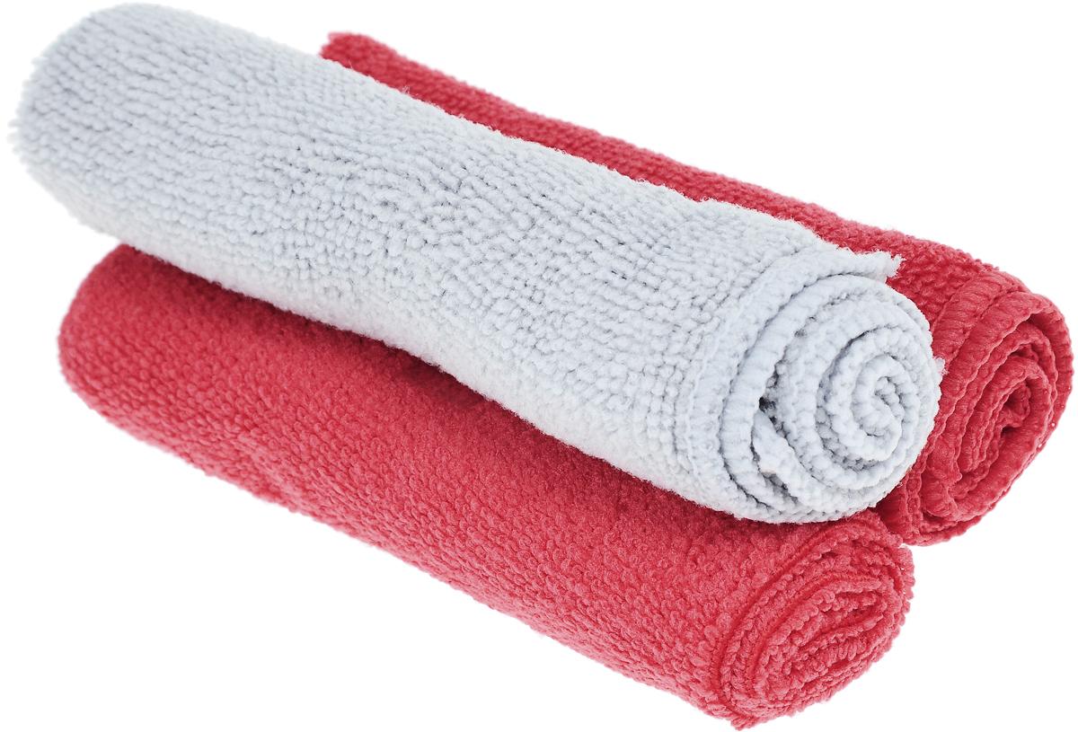 Набор универсальных салфеток Фэйт Вэриес, цвет: серый, красный, 30 х 30 см, 3 шт1304057_серый, красныйНабор Фэйт Вэриес состоит из 3 универсальных салфеток, выполненных из микрофибры. Такие салфетки не оставляют ворсинок, подходят для многократного использования, отлично впитывают влагу. Комплектация: 3 шт. Размер салфетки: 30 х 30 см.