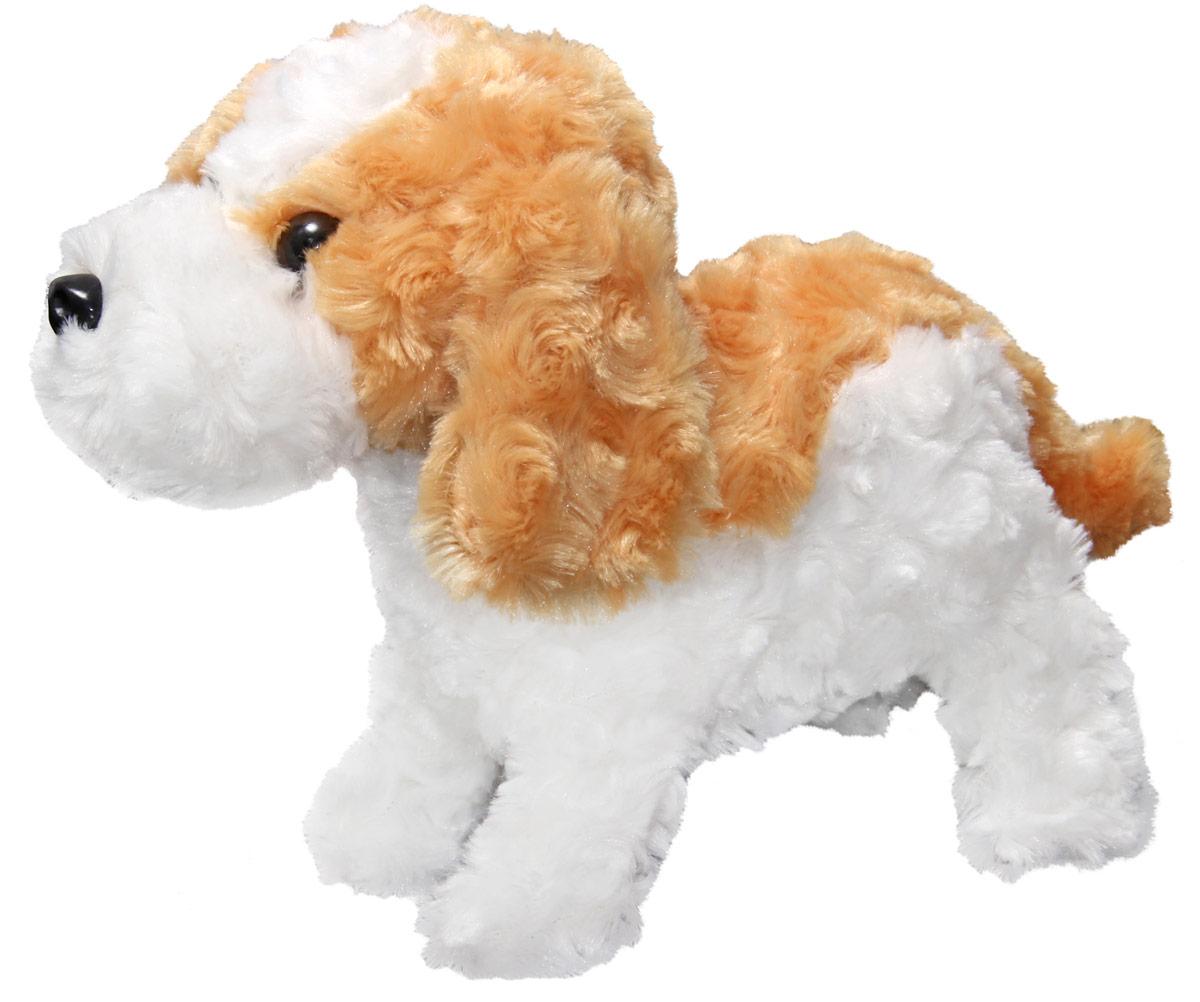 LAPA House Мягкая игрушка Собака РыжикJX-203Интерактивный щенок Рыжик реагирует на громкие звуки и хлопки, лает, скулит, садится, ложится и встает совсем как настоящая собака. Рыжик станет лучшим другом вашему малышу.