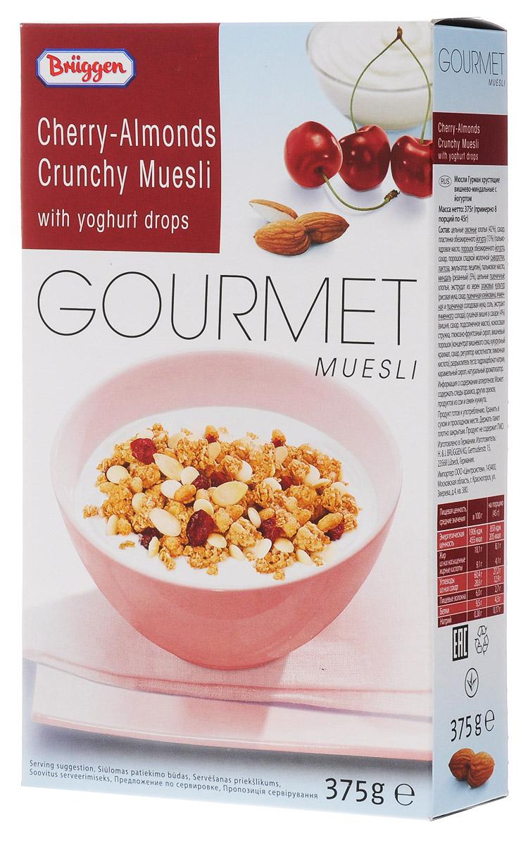 Gourmet Jovita мюсли вишня-миндаль йогурт, 375 г