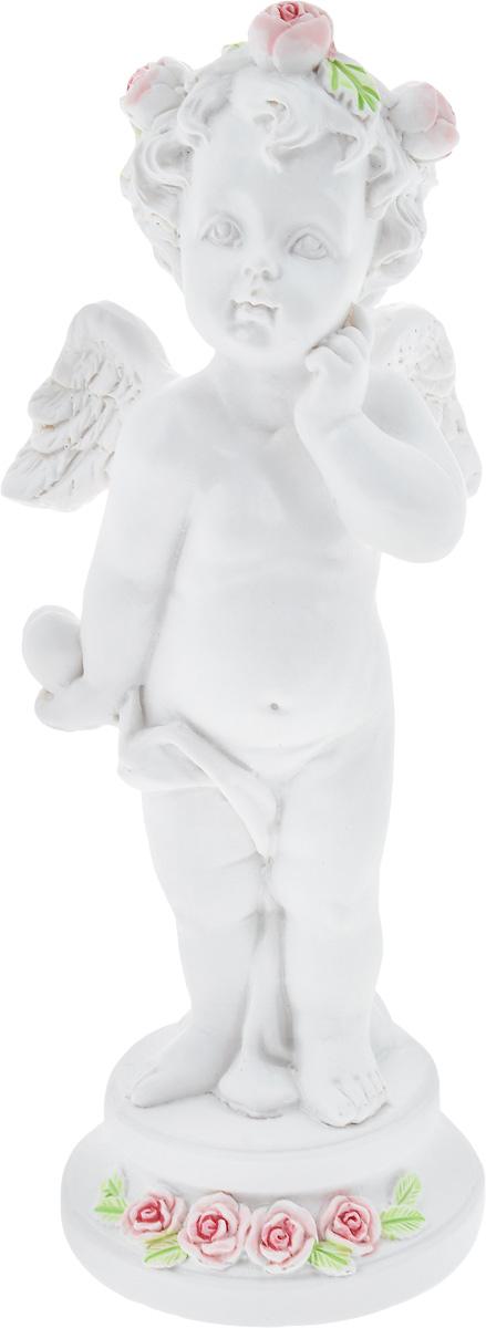 Фигурка декоративная Феникс-Презент Задумчивый ангел, высота 12,7 см наушники xiaomi mi in ear headfones basic голубой