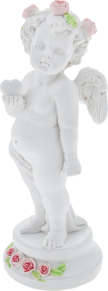 Фигурка декоративная Феникс-Презент Влюбленный ангел, высота 12,7 см40173Фигурка декоративная Феникс-Презент Влюбленный ангел, выполненная из полирезина, станет оригинальным подарком для всех любителей необычных вещей. Изделие имеет приятный дизайн. Изысканный сувенир станет прекрасным дополнением к интерьеру. Вы можете поставить фигурку в любом месте, где она будет удачно смотреться и радовать глаз.
