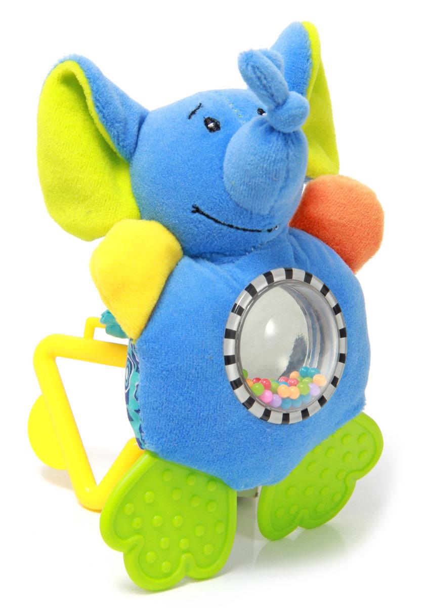Mara Baby Игрушка-подвеска Жаркие страныB-9030Развивающие игрушки учат малыша взаимодействовать с окружающим миром, знакомят со свойствами разных предметов, помогают развивать основные рефлексы (внимание, моторику рук, цветовое восприятие). Развивающая игрушка подвеска Жаркие страны вешается на кроватку или коляску при помощи пластикового кольца. Игрушка с пищалкой, безопасным зеркальцем, погремушкой с цветными шариками, шуршащими лапками и прорезывателями. Игрушка привлекает внимание и способствует развитию слуха и зрения.
