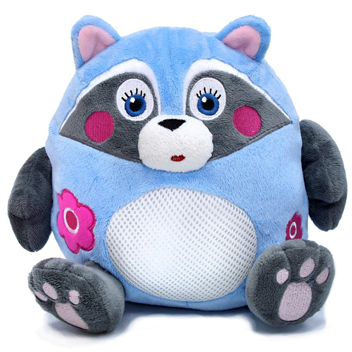 LAPA House Мягкая игрушка Енот24446Забавный и очень веселый зверек привлечет внимание ребенка и станет ему добрым другом. Он так весело хохочет и трясется, что невозможно остаться равнодушным и не рассмеяться вместе с ним! Популярные, любимые образы - кот, собака, медведь и енот, - понравятся и малышам, и их родителям. Описание: -кнопка включения на левой лапе игрушки - двигается с вибрацией - звуковые эффекты(хохочет) - отключение через 15 сек, после нажатия кнопки - работает от 3хАА батареек (в комплект не входят)