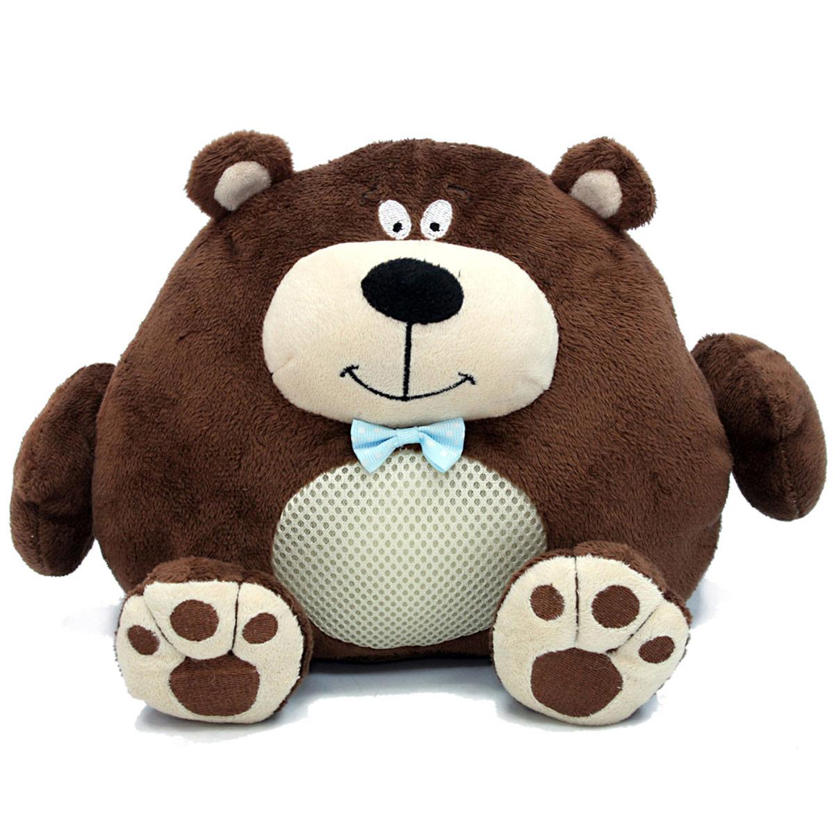 LAPA House Мягкая игрушка Медведь24448Забавный и очень веселый зверек привлечет внимание ребенка и станет ему добрым другом. Он так весело хохочет и трясется, что невозможно остаться равнодушным и не рассмеяться вместе с ним! Популярные, любимые образы - кот, собака, медведь и енот, - понравятся и малышам, и их родителям. Описание: -кнопка включения на левой лапе игрушки - двигается с вибрацией - звуковые эффекты(хохочет) - отключение через 15 сек, после нажатия кнопки - работает от 3хАА батареек (в комплект не входят)