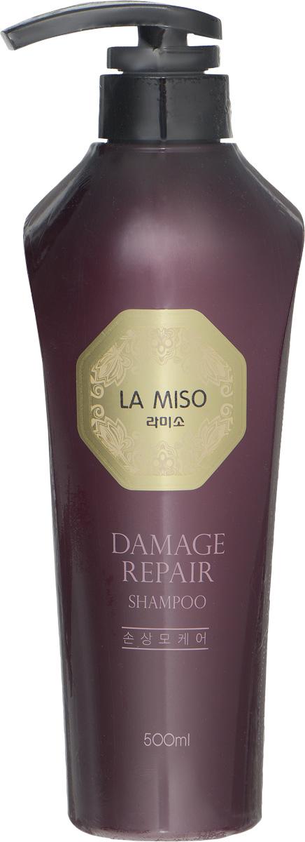 La Miso Шампунь для восстановления поврежденных волос, Damage Repair, 500 мл8809212591298Серия DAMAGE REPAIR содержит экстракт цветов камелии японской, который благодаря входящим в его состав катехинам и витамину С интенсивно восстанавливает и защищает поврежденные волосы, делая их мягкими и послушными. Экстракт цветов камелии японской насыщает волосы жизненной силой, возвращая их природную красоту и здоровье. Шампунь не содержит сульфаты и силиконы и способствует бережному очищению, не утяжеляя и не пересушивая волосы. Шампунь не содержит сульфаты и силиконы и способствует бережному очищению, не утяжеляя и не пересушивая волосы.