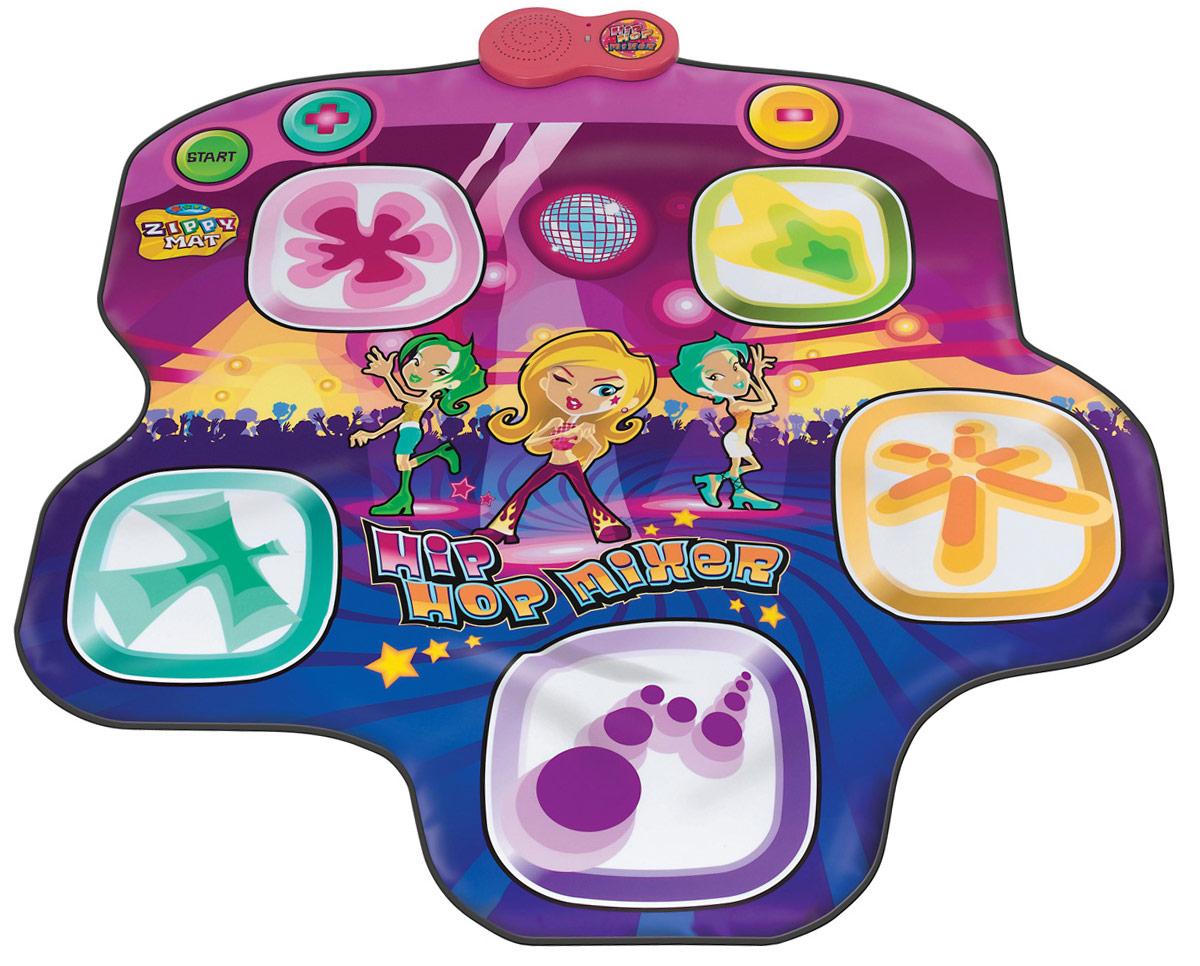 Ami&Co Игровой коврик музыкальный Хип-хопSLW9716Музыкальный коврик Amico – это увлекательная игрушка для подвижных игр. Она способствуют всестороннему развитию ребенка, сочетая в себе элементы игры, танца и спорта. Коврики реагируют на прикосновения и содержат несколько интерактивных игр, сопровождающихся веселой музыкой и звуками.Наступая на сенсорные клавиши коврика, ребенок создает дополнительные звуковые эффекты в стиле Хип-Хоп, которые накладываются на основную мелодию. 4 фоновые мелодии, регулируемая скорость, 5 звуковых эффектов, автоматическое отключение.