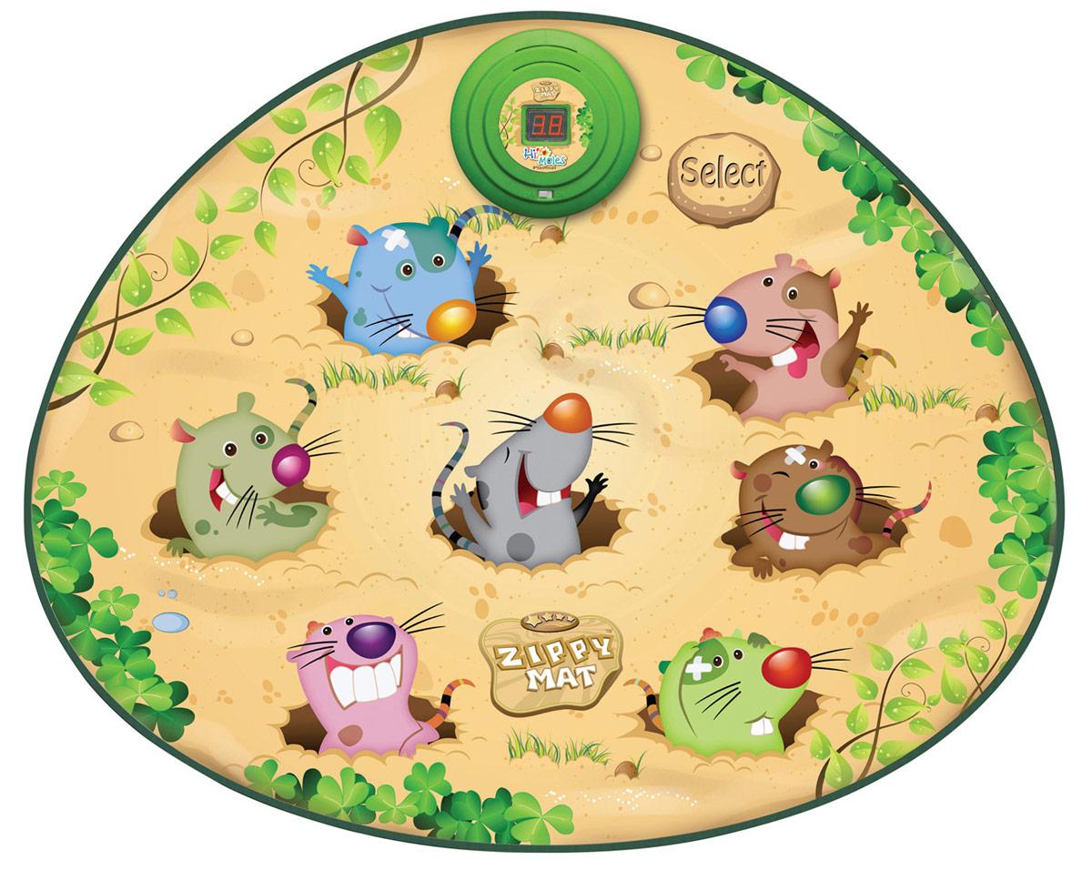 Ami&Co Игровой коврик мзукальный Смешные мышкиSLW9789Музыкальный коврик Amico – это увлекательная игрушка для подвижных игр. Она способствуют всестороннему развитию ребенка, сочетая в себе элементы игры, танца и спорта. Коврики реагируют на прикосновения и содержат несколько интерактивных игр, сопровождающихся веселой музыкой и звуками.Увлекательная игра на ловкость и скорость реакции. Набирайте очки, попадая по загорающемуся носику мышки, и переходите на следующий уровень. С каждым уровнем огоньки загораются все быстрее и быстрее. 3 уровня игры, ЖК-дисплей, мигающие огоньки, автоматическое автоотключение.