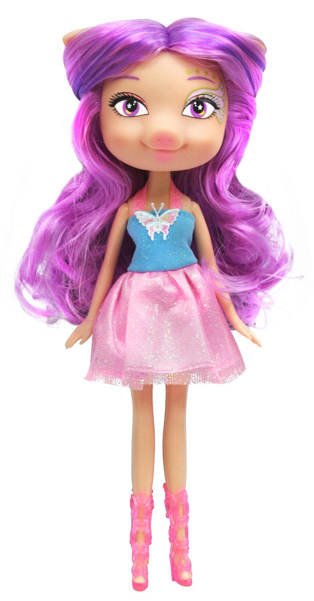 Daisy Кукла Пенелопа30125Daisy Pets - это серия ярких и очень позитивных фантазийных кукол. Наши маленькие домашние питомцы обожают своих хозяев и всегда мечтают быть похожими на них: носить такие же красивые, яркие платья, делать стильные прически и наносить оригинальный макияж. Каждая из таких милых игрушек отличается от других своей оригинальностью и специфическим внешним видом, способным покорить сердце любого… Девочки просто в восторге от наших кукол с роскошными длинными цветными волосами! Их можно наряжать, причесывать и играть с ними, создавая свой волшебный мир! Каждая девочка сможет выбрать своего любимца