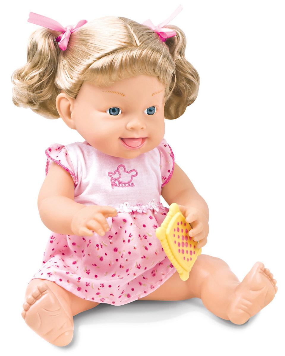 Lisa Jane Кукла Ем мороженое40349Кукла Lisa Jane очень симпатичная и нежная, она обязательно станет любимой игрушкой вашего ребенка. С ней так весело играть! Она такая милая, словно живая! И такая сладкоежка! Угости свою куклу самыми вкусными сладостями. Сладости в наборе словно настоящие! Поднеси лакомство ко рту куклы - она с удовольствием попробует его на вкус! С такой подружкой популярная игра дочки-матери станет еще увлекательней!