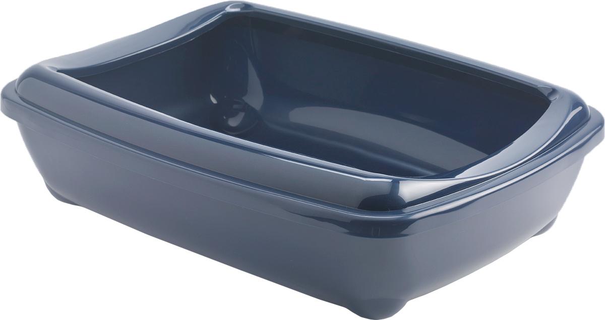 Туалет открытый Moderna Arist-O-Tray, цвет: темно-синий, 31х42х13 см14C132021