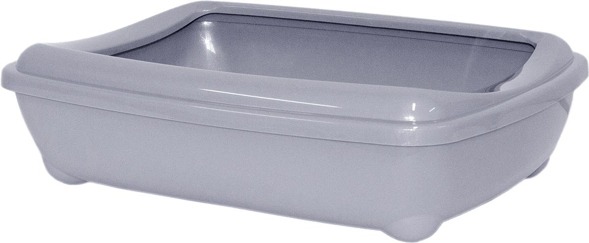 Туалет открытый Moderna Arist-O-Tray, цвет: серый, 38х50х14 см14C192026