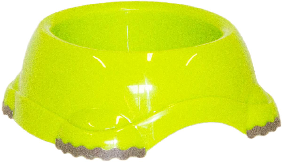Миска Moderna Smarty bowl, с антискольжением, цвет: зеленый, 12х5 см14H101173