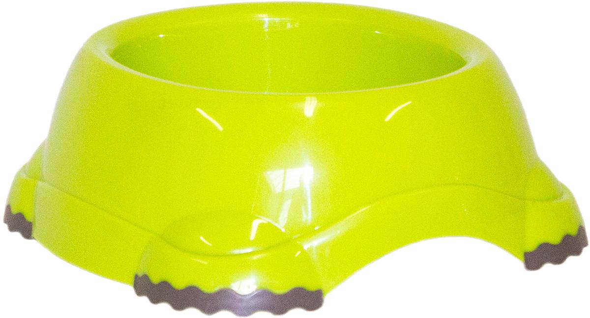 Миска Moderna Smarty bowl, с антискольжением, цвет: зеленый, 16х7 см14H102173