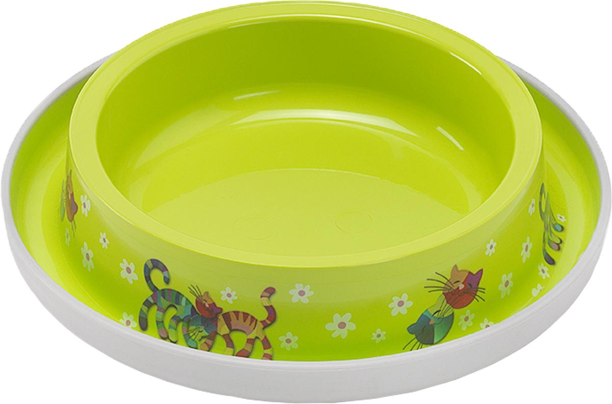 Миска для кошек Moderna Trendy Dinner. Друзья навсегда, цвет: салатовый, 210 мл14H130173, 14H130157Удобная и оригинальная миска для кошек Moderna Trendy Dinner. Друзья навсегда выполнена из пищевого пластика с нескользящим дном. Можно использовать для воды и корма. Миска устойчива и не переворачивается. Высококачественная полировка, устойчива к деформации. Можно мыть в посудомоечной машине. Объем миски: 210 мл.