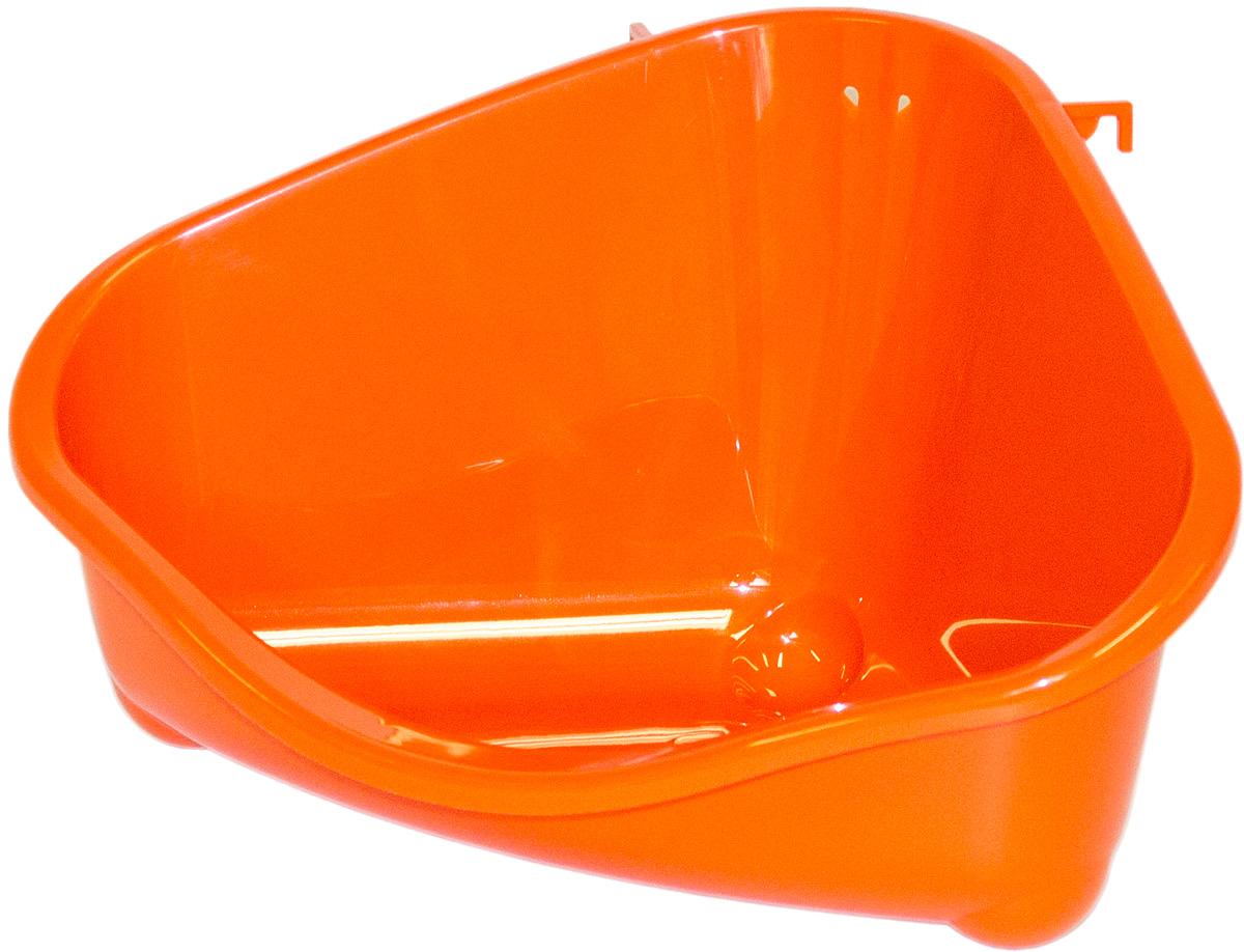 Место для грызуна Moderna, среднее, цвет: оранжевый, 35х23,4х19 см14R200148