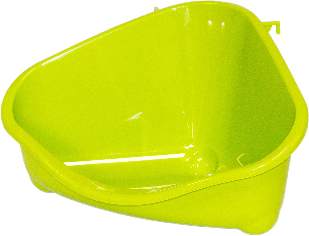 Место для грызуна Moderna, среднее, цвет: зеленый, 35х23,4х19 см14R200173