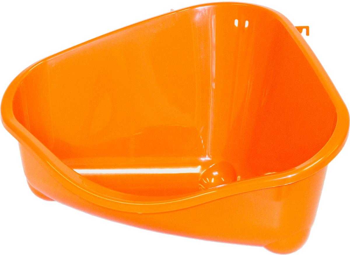 Место для грызуна Moderna, большое, цвет: оранжевый, 49х34,6х26 см14R300148