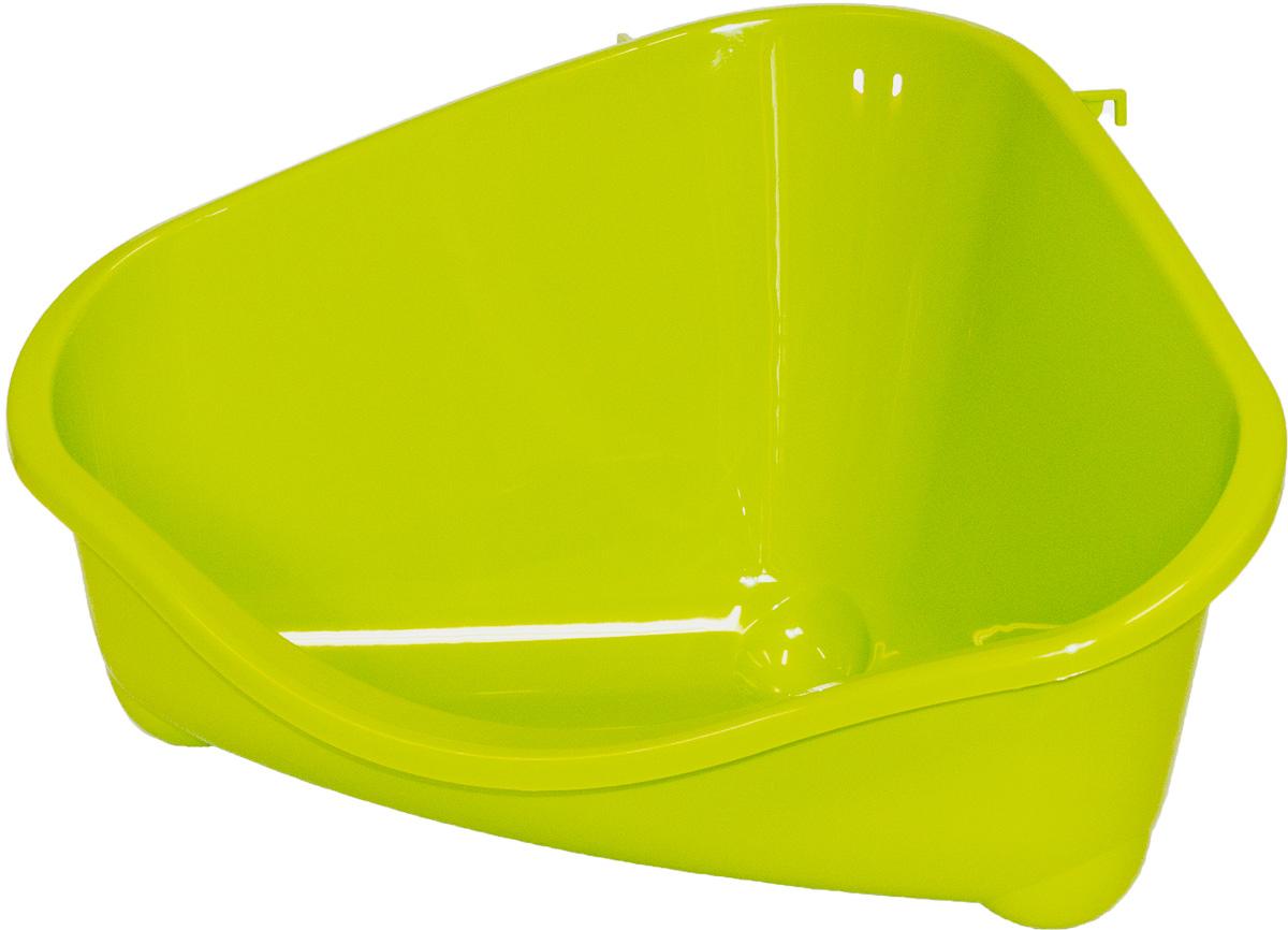 Место для грызуна Moderna, большое, цвет: зеленый, 49х34,6х26 см14R300173