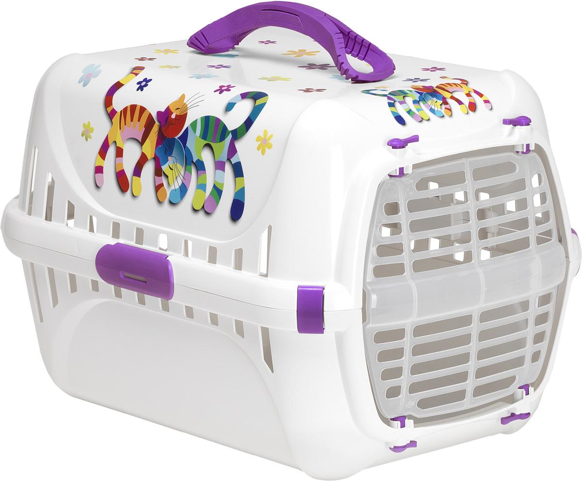 Переноска Moderna Trendy Runner. Друзья Навсегда, цвет: фиолетовый, 51х31х34 см14T150157