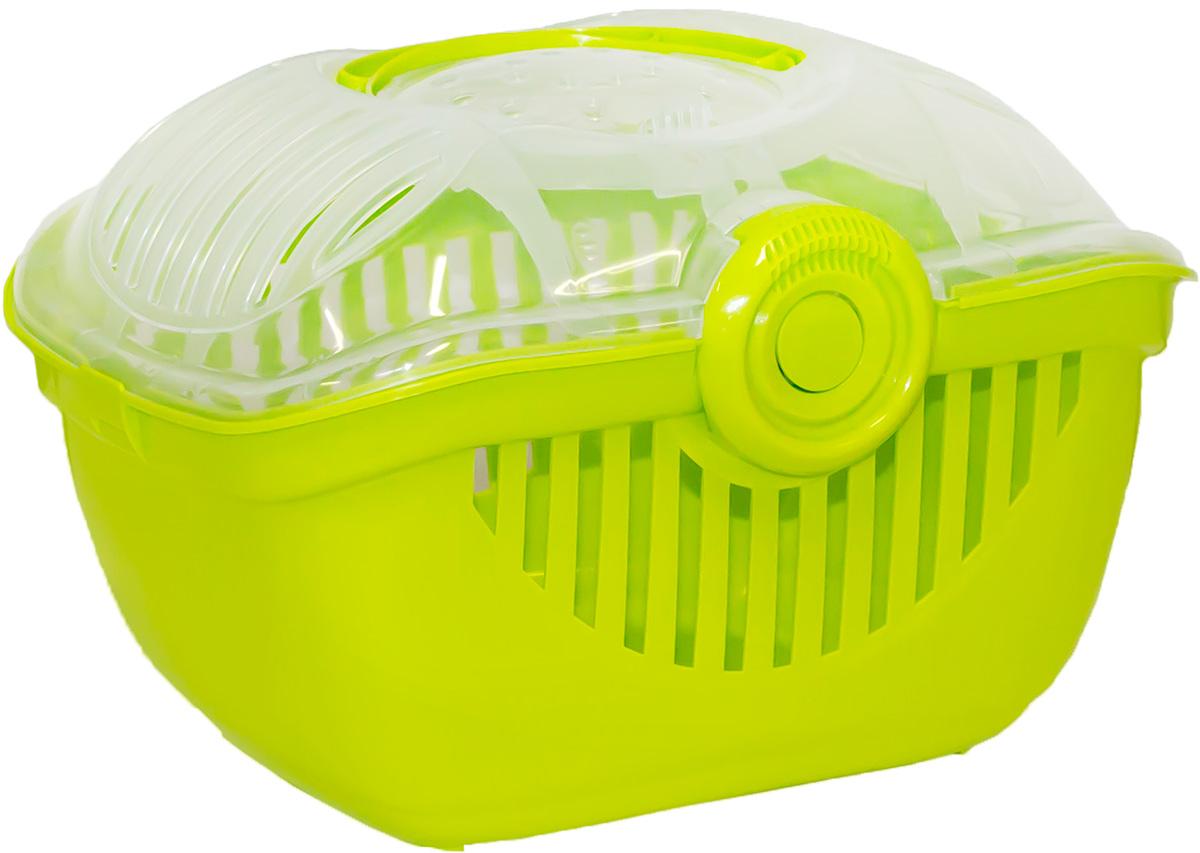Переноска Moderna Top Runner, цвет: зеленый, 39х29х25 см14T700173