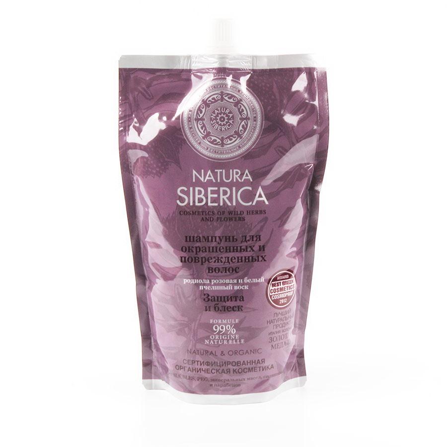 Natura Siberica Шампунь для окрашенных волос Защита и блеск , 500 мл