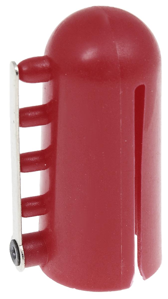 Наперсток для вязания Pony60245Наперсток для вязания Pony изготовлен из пластика. Наперсток применяется для вязания жаккардовых узоров, для распределения нитей разных цветов, имеет 4 нитенаправителя. Имеет форму наперстка, который надевается на палец. Длина наперстка 4 см; Диаметр наперстка 1,5 см.