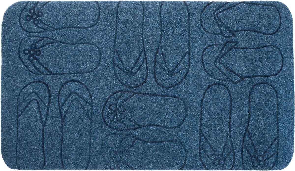 Коврик придверный EFCO Оскар. Сланцы, цвет: синий, 70 х 40 см13130_синийОригинальный придверный коврик EFCO Оскар. Сланцы надежно защитит помещение от уличной пыли и грязи. Изделие выполнено из 100% полипропилена, основа - латекс. Такой коврик сохранит привлекательный внешний вид на долгое время, а благодаря латексной основе, он легко чистится и моется.