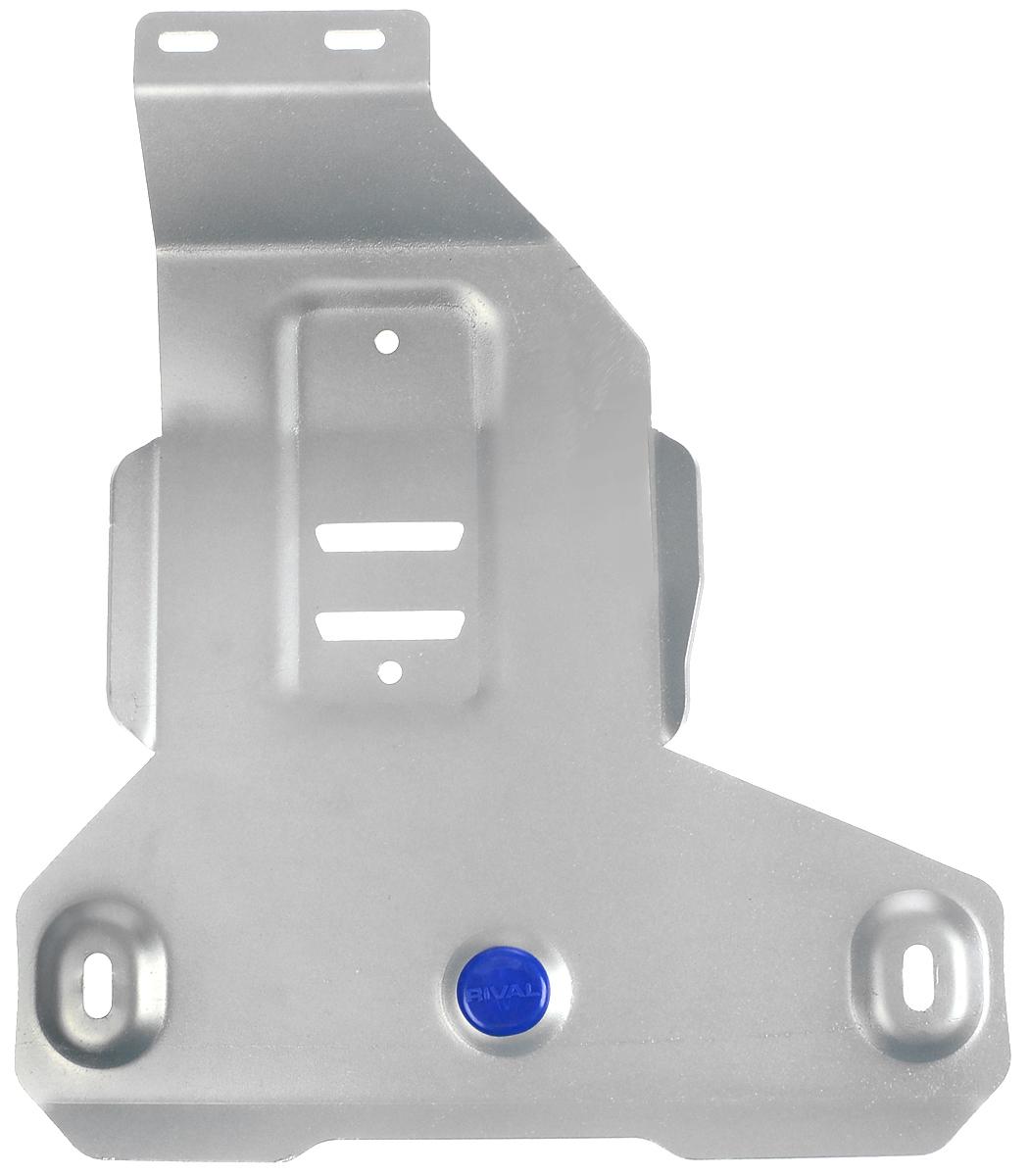 Защита редуктора Rival, для BMW X1333.0527.1Защита редуктора для BMW X1 4WD , 20i; 20d 2015-, крепеж в комплекте, алюминий 4 мм, Rival. Надежно защищают днище вашего автомобиля от повреждений, например при наезде на бордюры, а также выполняют эстетическую функцию при установке на высокие автомобили. - Толщина алюминиевых защит в 2 раза толще стальных, а вес при этом меньше до 30%. - Отлично отводит тепло от двигателя своей поверхностью, что спасает двигатель от перегрева в летний период или при высоких нагрузках. - В отличие от стальных, алюминиевые защиты не поддаются коррозии, что гарантирует срок службы защит более 5 лет. - Покрываются порошковой краской, что надолго сохраняет первоначальный вид новой защиты и защищает от гальванической коррозии. - Глубокий штамп дополнительно усиливает конструкцию защиты. - Подштамповка в местах крепления защищает крепеж от срезания. - Технологические отверстия там, где они необходимы для смены масла и слива воды,...