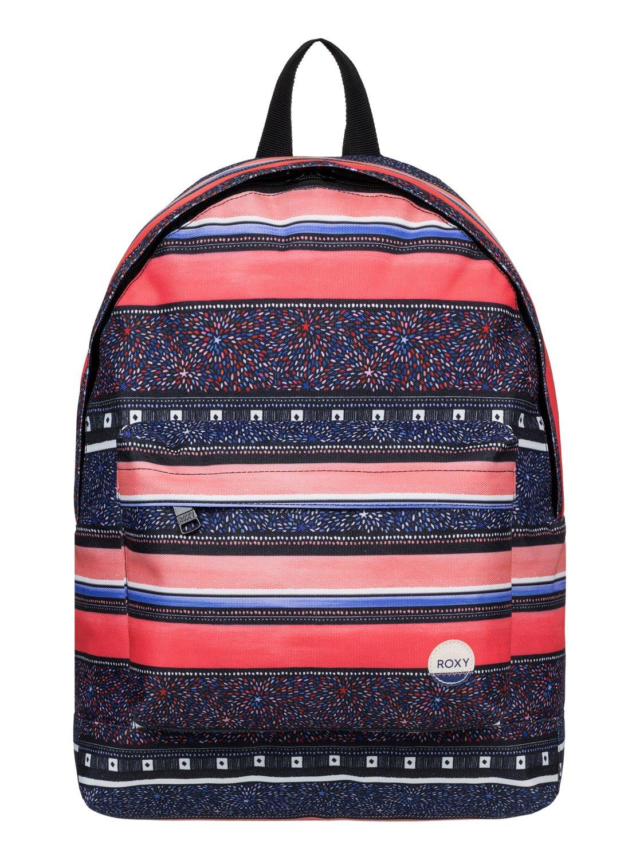 Рюкзак городской женский Roxy Be Young, цвет: синий, оранжевый, 24 л. ERJBP03266-MLR6ERJBP03266-MLR6