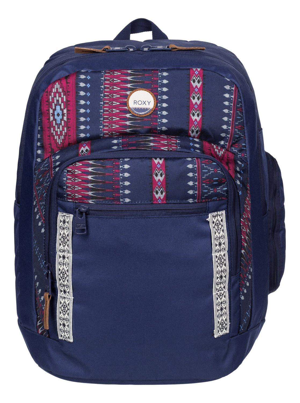 Рюкзак городской женский Roxy Sand Shine, цвет: синий, 30 л. ERJBP03277-BSQ8ERJBP03277-BSQ8