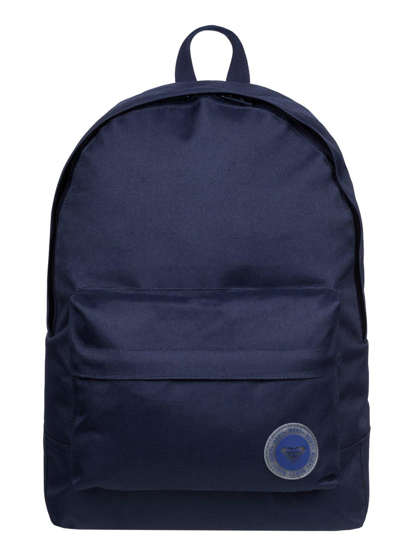 Рюкзак городской женский Roxy Sugar Baby Solid, цвет: синий, 16 л. ERJBP03262-BSQ0ERJBP03262-BSQ0