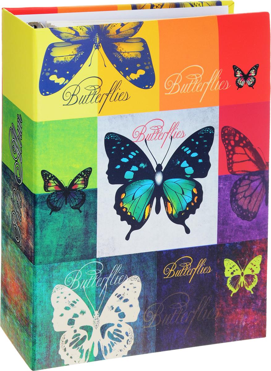 Фотоальбом Феникс-Презент Радужные бабочки, на кольцах, 50 магнитных листов41267Фотоальбом Феникс-Презент Радужные бабочки сохранит моменты ваших счастливых мгновений на своих страницах. Обложка альбома выполнена из картона и оформлена красочным изображением бабочек. Листы, изготовленные из картона с клеевым покрытием и пленки ПВХ, размещены на металлических разъемных кольцах. Альбом с магнитными листами удобен тем, что он позволяет размещать фотографии разных размеров. Для того чтобы поместить фотографии на магнитной странице, надо отлепить ПВХ пленку по направлению от корешка альбома к внешней стороне страницы и разложить фотографии поверх клейковатого покрытия так, как вам нравится. После размещения фотографий надо их закрыть пленкой так, чтобы не было пузырьков воздуха, складок и заломов. Магнитные страницы обладают следующими преимуществами: - Не нужно прикладывать усилия для закрепления фотографий, - Не нужно заботиться о размерах фотографий, так как вы можете вставить в альбом фотографии разных размеров, - Защита...
