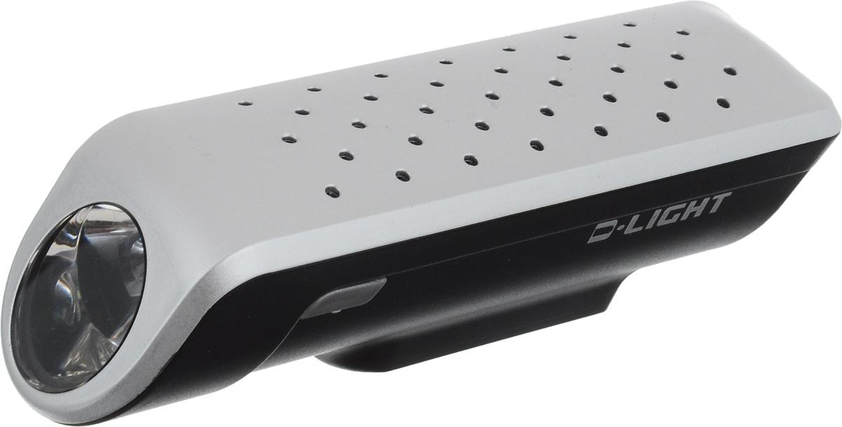 Фара велосипедная D-Light CG-119, цвет: серебристый, черныйCG-117P-SilverФара D-Light CG-119P предназначена для обеспечения большей безопасности при поездках в темное время суток. Легко снимается и помещается в кармане. Фара крепится без дополнительных инструментов. Корпус изделия выполнен из прочного пластика, водонепроницаем. Фара имеет 3 режима: мигание, ближний и дальний свет. Фонарь питается от 3 батарей типа ААА (входят в комплект). Время свечения в режиме дальнего света: 15 ч. Время свечения в режиме ближнего света: 30 ч. Время мигания: 60 ч. Размер фары (без учета крепления): 9,7 х 2,8 х 2,7 см.