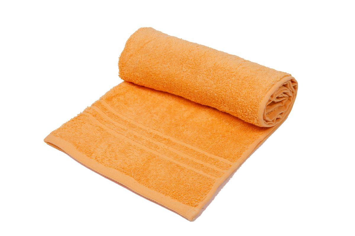 "Полотенце махровое Arloni ""Marvel"", цвет: оранжевый, 70 x 140 см. 44031.3"
