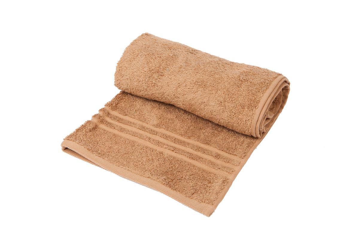 Полотенце махровое Arloni Marvel, цвет: кофейный, 100x150 см. 44033.444033.4