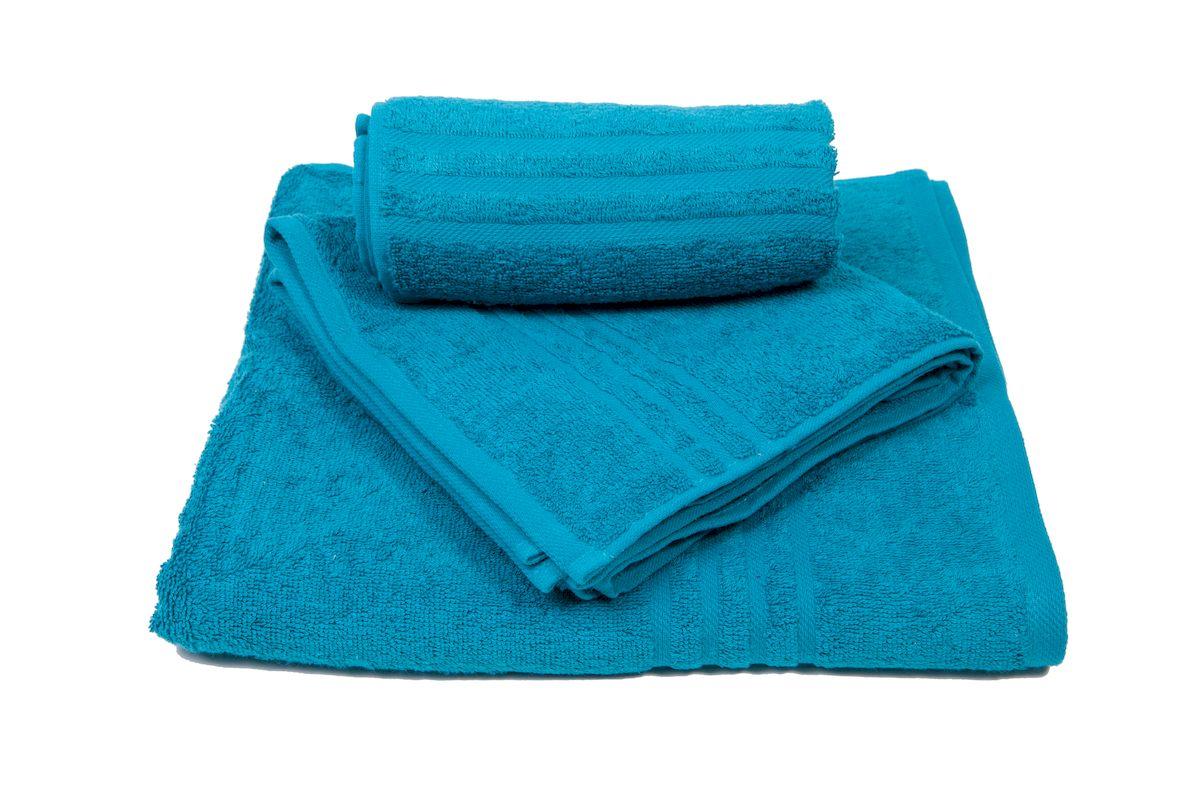 Набор полотенец махровых Arloni Marvel, цвет: бирюзовый, 3 шт. 44034.644034.6