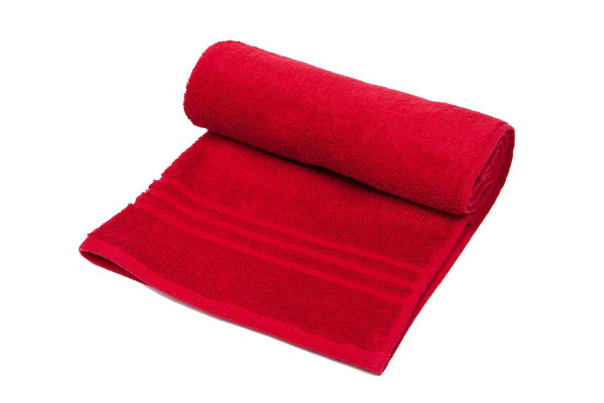 Полотенце махровое Arloni Marvel, цвет: бордовый, 100x150 см. 44039.444039.4