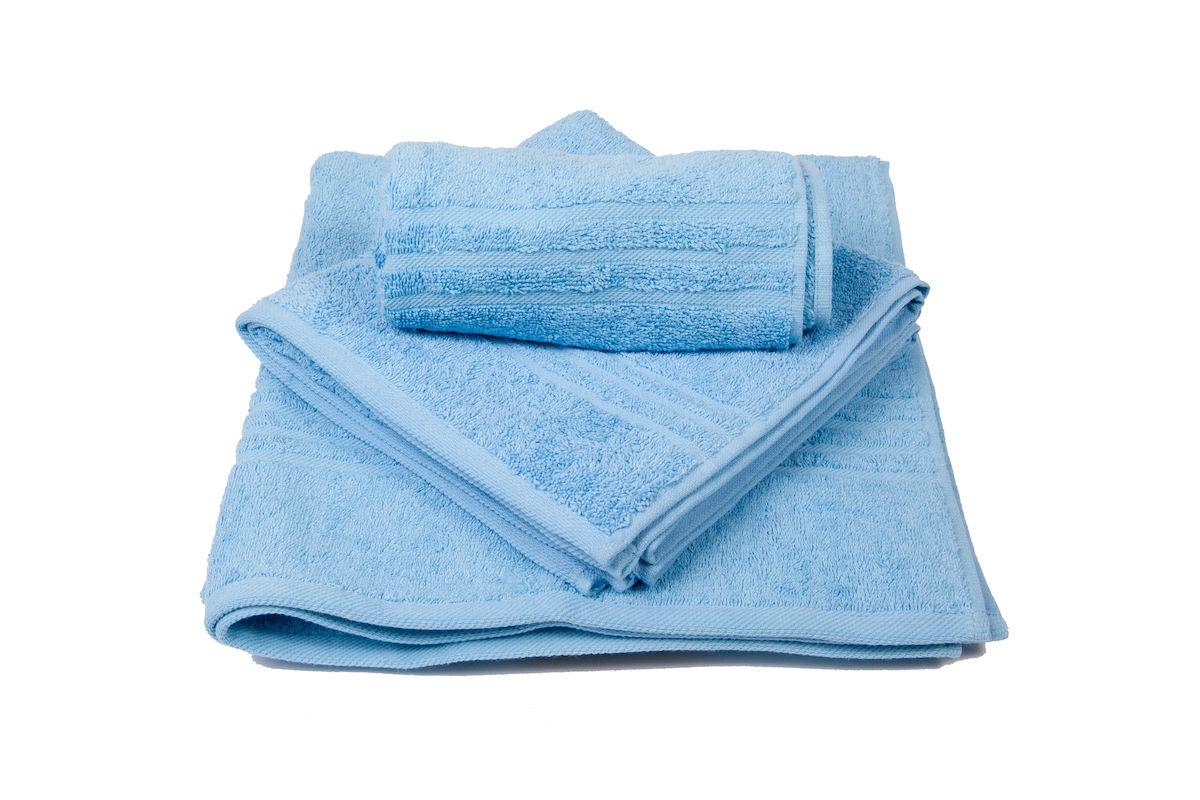 Набор полотенец махровых Arloni Marvel, цвет: голубой, 3 шт. 44040.644040.6