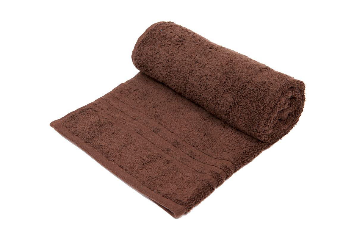 """Полотенце махровое Arloni """"Marvel"""", цвет: шоколадный, 70 x 140 см. 44041.3"""