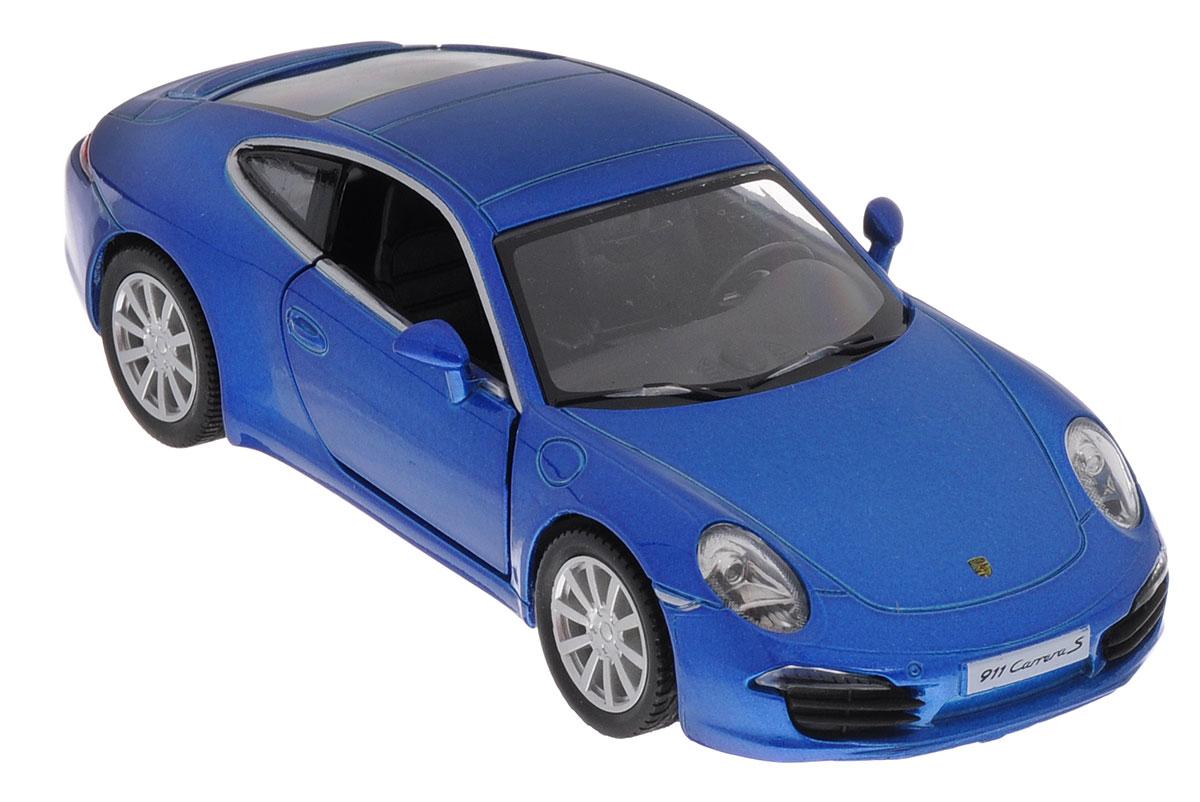 Uni-Fortune Toys Модель автомобиля Porsche 911 Carrera S554010Z(E)Porsche 911 Carrera S - спортивный автомобиль производства немецкой компании Porsche AG в кузове двухдверное купе или кабриолет на его основе, в разных поколениях производящегося с 1964 года по наши дни. Модель автомобиля Uni-Fortune Toys Porsche 911 Carrera S будет отличным подарком как ребенку, так и взрослому коллекционеру. Благодаря броской внешности и великолепной точности автомобиль станет подлинным украшением любой коллекции авто. Модель выполнена в масштабе 1/32. Модель будет долго служить своему владельцу благодаря металлическому корпусу с элементами из пластика. Передние двери машины открываются. Машинка обладает инерционным механизмом, ее необходимо отвести назад, затем отпустить - и она быстро поедет вперед. Шины обеспечивают отличное сцепление с любой поверхностью пола. Модель автомобиля обязательно понравится вашему ребенку и станет достойным экспонатом любой коллекции.
