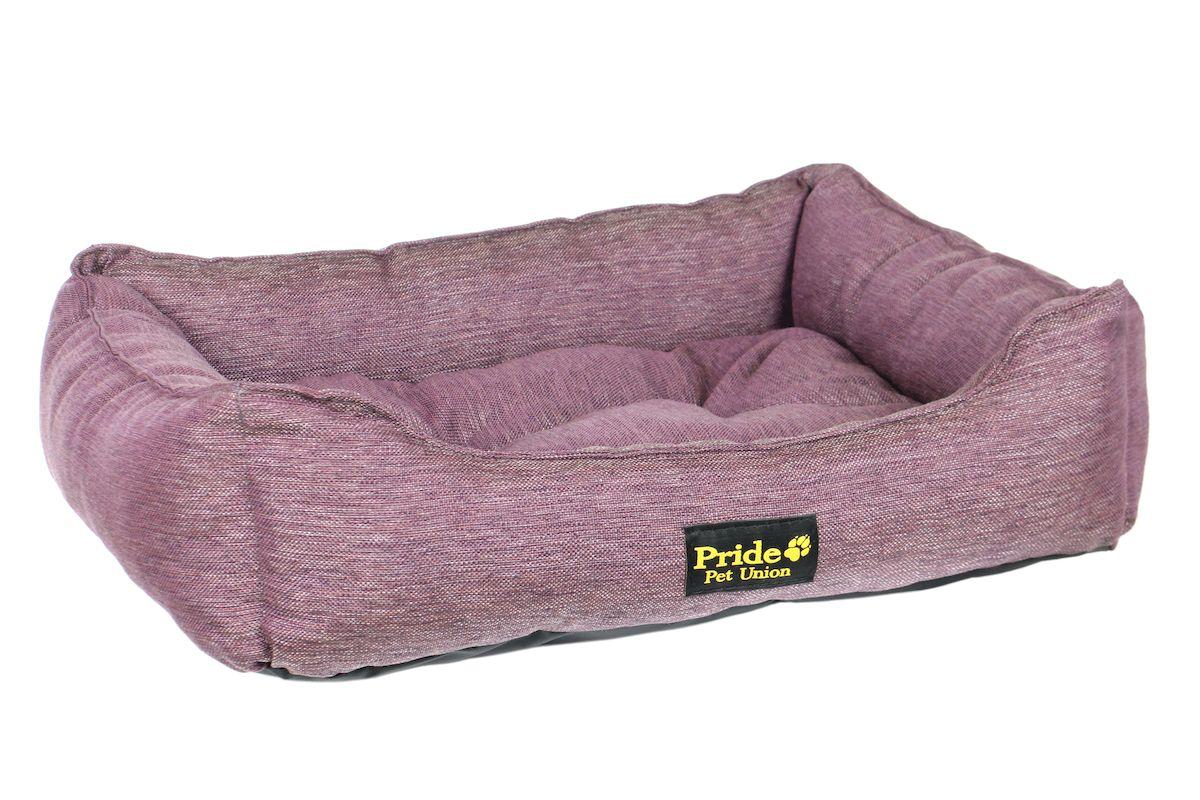 Лежак для животных Pride Прованс, цвет: фиолетовый, 90 х 80 х 25 см10012203Лежак для животных Pride Прованс прекрасно подойдет для отдыха вашего домашнего питомца. Предназначен для собак средних и крупных пород. Изделие выполнено из прочной ткани. Снабжено невысокими широкими бортиками и съемной мягкой подушкой. Комфортный и уютный лежак обязательно понравится вашему питомцу, животное сможет там отдохнуть и выспаться. Размер лежака: 90 х 77 х 21 см. Состав: полиэстер. Наполнитель: холлофайбер.
