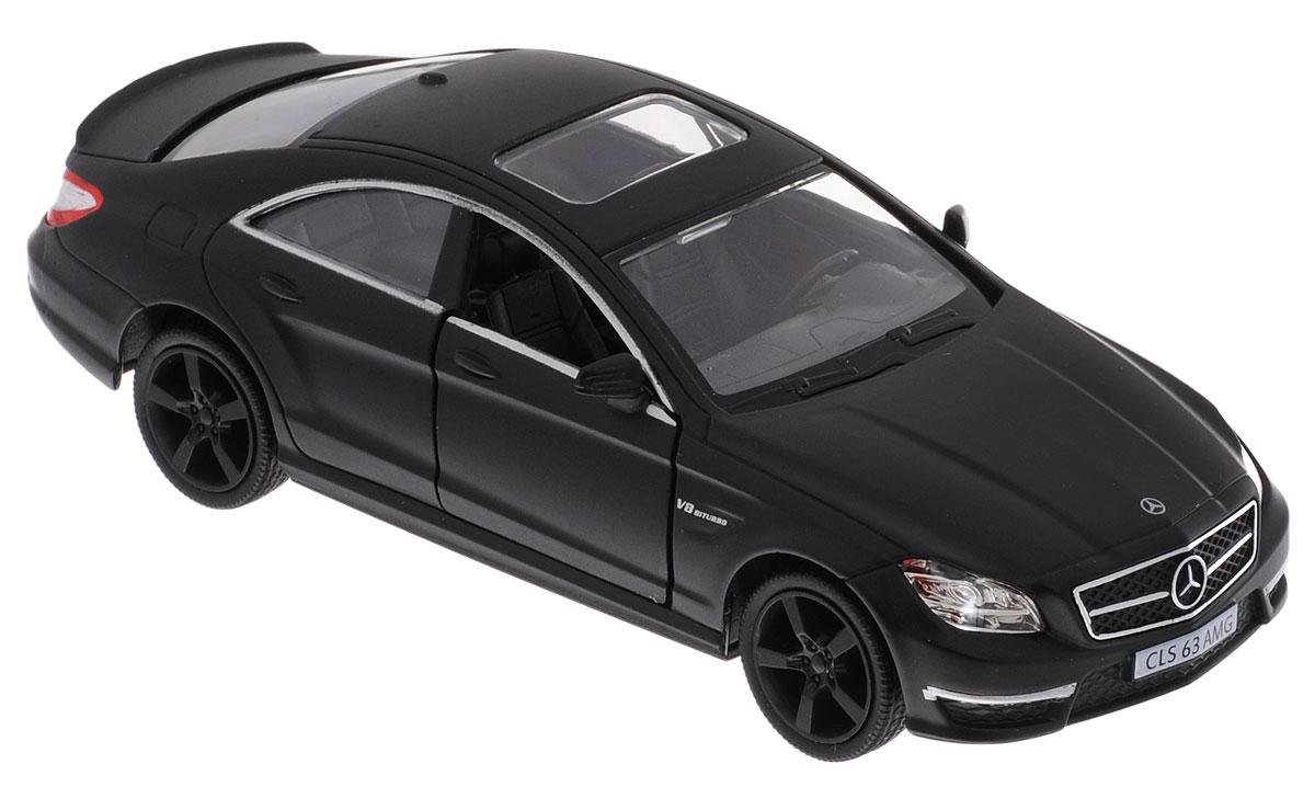 Uni-Fortune Toys Модель автомобиля Mercedes-Benz CLS 63 AMG554995MМодель автомобиля Uni-Fortune Toys Mercedes-Benz CLS 63 AMG станет любимой игрушкой вашего ребенка. Благодаря броской внешности, а также великолепной точности, с которой создатели этой масштабной модели передали внешний вид настоящего автомобиля, машинка станет подлинным украшением любой коллекции авто. Машинка оснащена инерционным механизмом. Необходимо отвести ее назад, затем отпустить - и она быстро поедет вперед. Шины обеспечивают отличное сцепление с любой поверхностью пола. Дверцы машинки открываются. Во время игры с такой машиной у ребенка развивается мелкая моторика рук, фантазия и воображение. Машина будет долго служить своему владельцу благодаря металлическому корпусу с элементами из пластика.