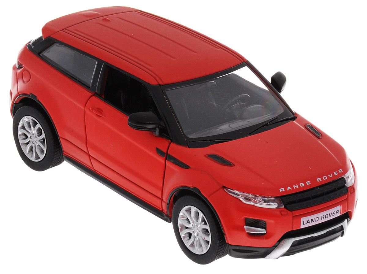 Uni-Fortune Toys Модель автомобиля Range Rover Evoque554008M(A)Модель автомобиля Uni-Fortune Toys Range Rover Evoque станет любимой игрушкой вашего ребенка. Благодаря броской внешности, а также великолепной точности, с которой создатели этой масштабной модели передали внешний вид настоящего автомобиля, машинка станет подлинным украшением любой коллекции авто. Машинка оснащена инерционным механизмом. Необходимо отвести ее назад, затем отпустить - и она быстро поедет вперед. Шины обеспечивают отличное сцепление с любой поверхностью пола. Дверцы машинки открываются. Во время игры с такой машиной у ребенка развивается мелкая моторика рук, фантазия и воображение. Машина будет долго служить своему владельцу благодаря металлическому корпусу с элементами из пластика.