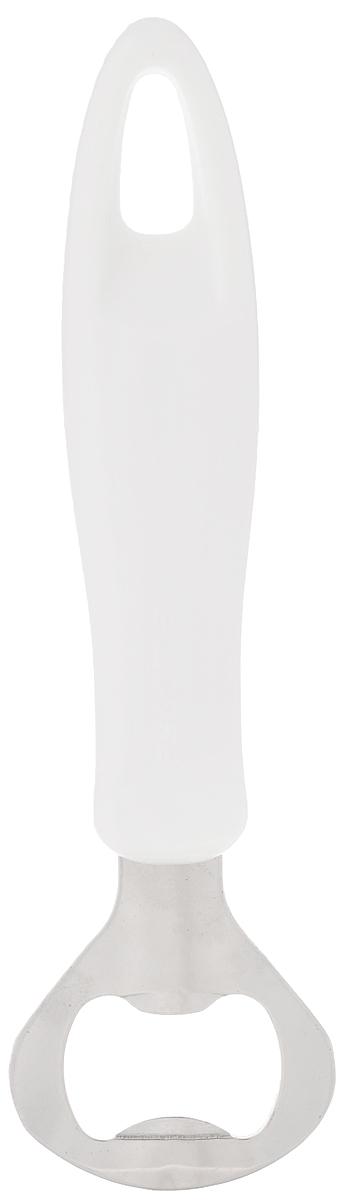 Открывалка для бутылок Tescoma Presto, длина 16 см420232Открывалка для бутылок Tescoma Presto замечательна для удобного открывания бутылок с кронен-пробкой. Изготовлена из первоклассной нержавеющей стали и прочной пластмассы. Ручка приспособлена для подвешивания на вешалку. Открывалка для бутылок Tescoma Prestoстанет прекрасным дополнением к кухонной утвари. Можно мыть в посудомоечной машине. Длина открывалки: 16 см.