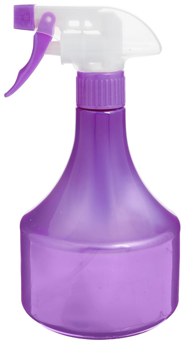 Опрыскиватель Yudi, цвет: фиолетовый, 500 мл4005_фиолетовыйЛегкий и яркий опрыскиватель Yudi выполнен из прочного пластика и оснащен специальной насадкой-пульверизатором. Он поможет вам в опрыскивании цветочных клумб, а также при уходе за вашими комнатными растениями. Каждый любитель цветов знает, что для ухода за растениями нужен опрыскиватель, который является источником влаги для растения. Существуют такие цветы, которые нельзя поливать обычным способом.