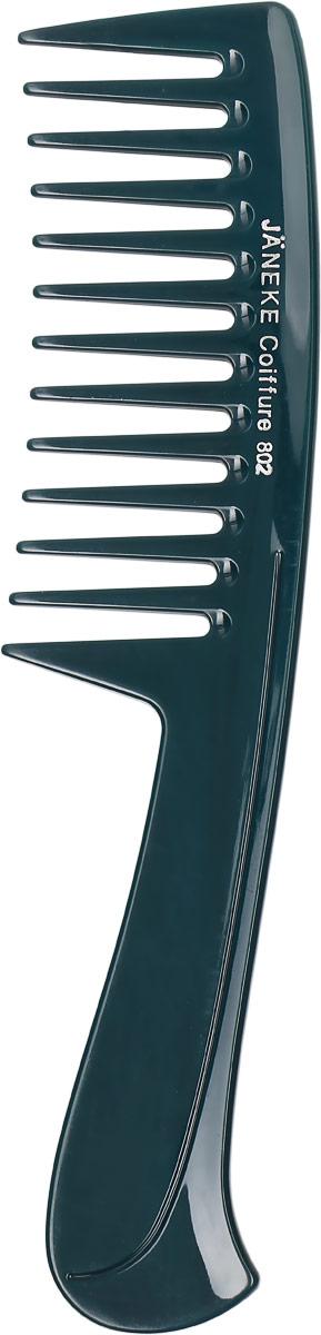 Janeke Расческа для волос, цвет: темно-зеленый. 59802