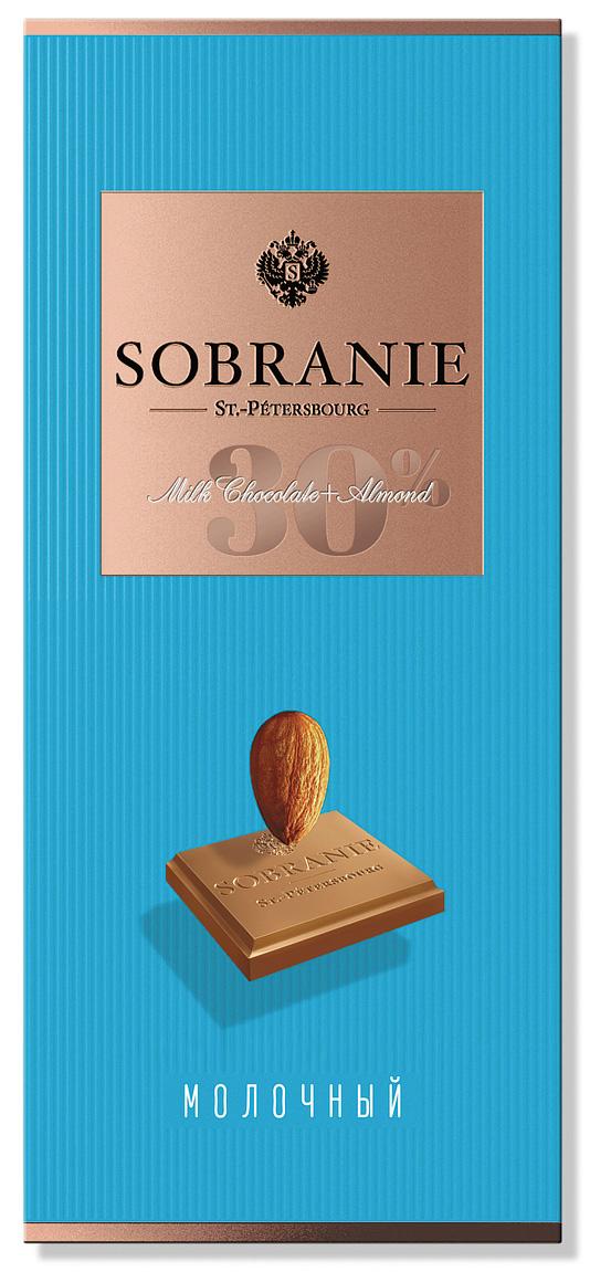 Sobranie молочный шоколад с фундуком, 90 г ( 14.0652 )
