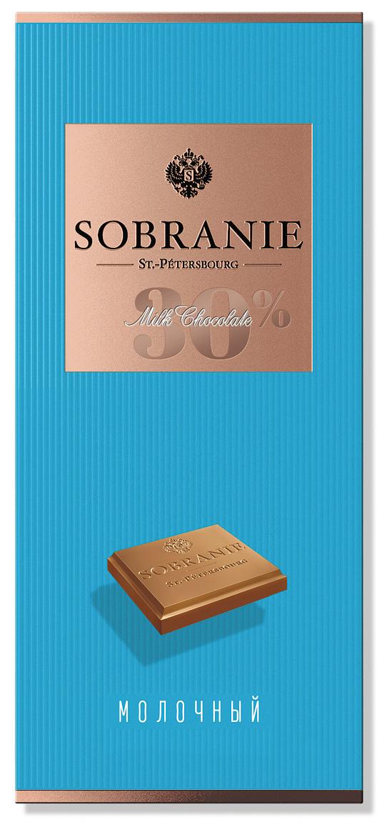 Sobranie молочный шоколад, 90 г ( 14.0676 )