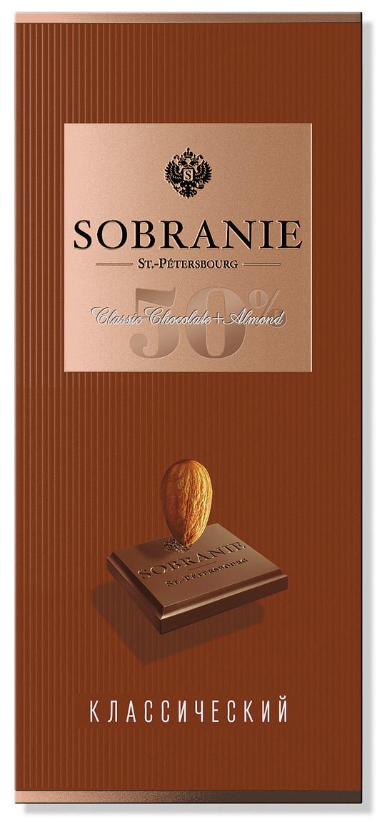Sobranie темный шоколад с орехами, 90 г ( 14.0713 )