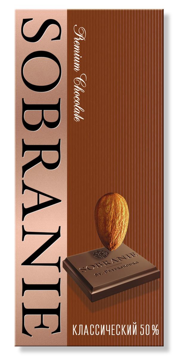 Sobranie темный шоколад с орехами, 45 г ( 14.2298 )